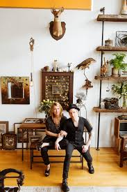 kim meinelt and scott irvine at home in brooklyn chez moi