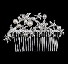 decorative hair combs wholesale silver starfish decorative hair combs buy decorative