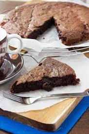 6 ingredient gooey swedish chocolate cake kladdkaka scrummy lane