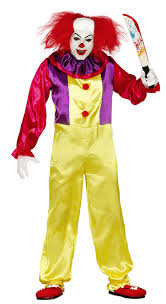 killer clown costume killer clown costume for adults by guirca 84317 karnival costumes