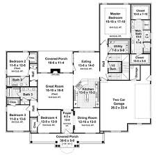 country house plans french country house plan on one story country