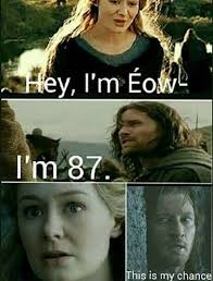 Funny Lotr Memes - pin by llitastar on eowyn pinterest