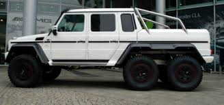 six wheel mercedes suv mercedes g 63 amg 6x6 for sale 100 produced cars