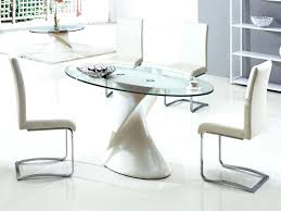 Glass Top Dining Room Table Sets Oval Extendable Dining Table U2013 Rhawker Design