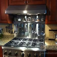 kitchen stainless steel backsplash kitchen stainless steel backsplash tile stove with range