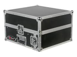 Audio Rack Case Odyssey Cases Fr1002 Flight Ready Mixer Combo Rack Dj Case 2 Space