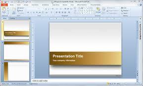 slide design for powerpoint presentation free download