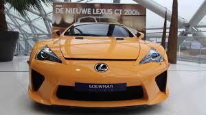 orange lexus lfa one of a orange lexus lfa supercar walkaround