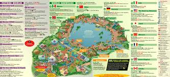 Walt Disney World Resorts Map by Amusement And Theme Parks U2013 Orlando Florida Resorts Waterparks