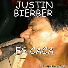 Meme Caca - arraymeme de justin bierber es caca