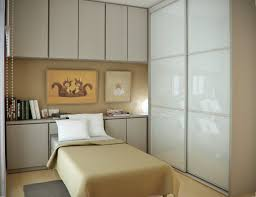 Space Saving Bedroom Ideas Bedroom Beautiful White Brown Wood Glass Cool Design Small