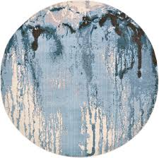 light blue round area rug light blue 245cm x 245cm casablanca round rug area rugs rugs ca