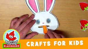feed the rabbit craft for kids maple leaf learning playhouse