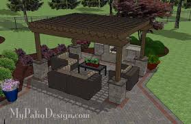 Patio Designs With Pergola by Plain Patio Designs With Pergola Design Ideas Home And