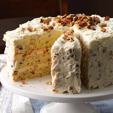 butter pecan layer cake recipe taste of home