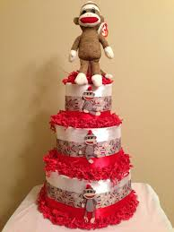 452 Best Diaper Cakes Images On Pinterest Baby Shower Gifts