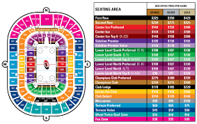 Gillette Stadium Map Tampa Bay Lightning Arena Seating Chart Amalie Arena Seating