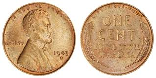 penny s 1943 s lincoln wheat cent bronze copper composition value and prices