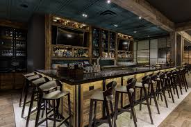 aria group architects project one fifty one kitchen bar