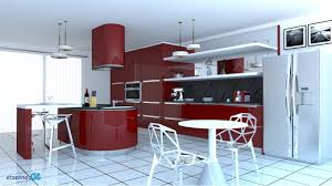 exemple cuisine moderne exemple cuisine avec ilot central americaine aménagée enchanteur