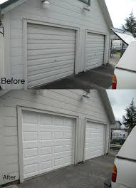 how to paint a metal garage door garage doors paint garage door faux look like wood your to