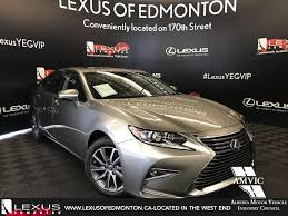lexus new car new 2018 lexus es touring package 4 door car in edmonton l14109