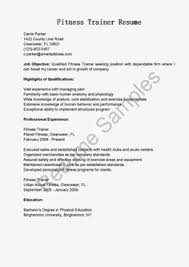 Sample Fitness Instructor Resume by Sample Letters To Cancel Appointment To Create A Personalized