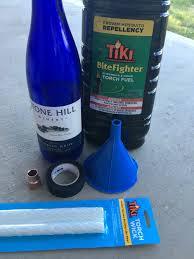 diy mosquito repellent wine bottle torches u2014 brood farm