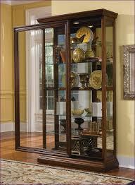 Tall Corner Display Cabinet Kitchen Room Magnificent Vintage Corner Curio Cabinet Furniture