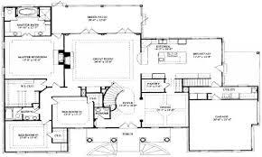 100 ranch house floor plan upper floor plan for 9952