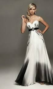 black and white wedding dresses black and white wedding dress with black belt st pete museum of
