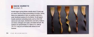 Wood Carving Kitchen Utensils by Fine Woodworking Magazine David Hurwitz Chest Of Drawers David