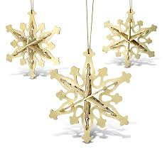 snowflake ornaments 3 in 1 3d jigsaw woodcraft kit wooden puzzle