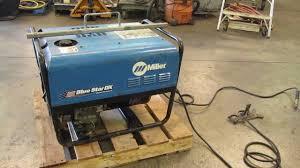 miller blue star 185 dx welder 6000 watt generator kohler gas