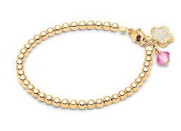 gold beads bracelet images 3mm tiny blessings beads baby children 39 s beaded bracelet 14k gold jpg
