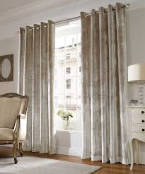 Curtain Crown Molding Decor Tips Taupe Velvet Drapes With Grommet Curtain And
