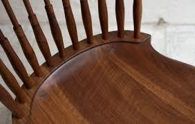 Black Walnut Dining Chairs Furniture Fan Back Dining Chair Bddw