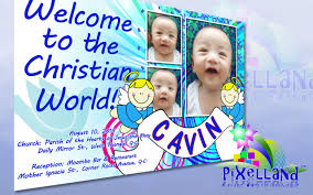 layout for tarpaulin baptismal tarpaulin layout and print pixelland
