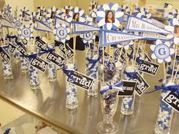 unique graduation favors graduation centerpiece ideas