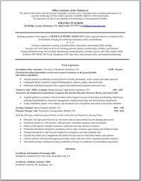 sample resume medical assistant resume samples and resume