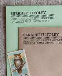 Stamps For Wedding Invitations Address Stamps U2013 The Chatty Press