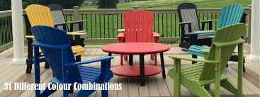 environmentally friendly patio furniture made from recycled plastic