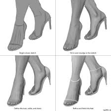 how to draw feet in photoshop