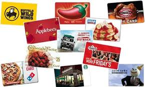 food gift cards fast food gift cards online food