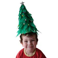 christmas tree hat christmas tree crepe paper hat by jellyfish jelly crepe paper