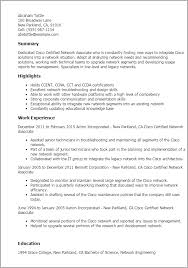 Cisco Network Engineer Resume Sample Additional Information On Resume Examples 6731