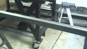 building a sawhorse to go with the welding table youtube