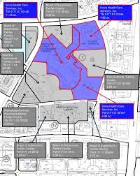 Fairfax County Map Numerous Local Projects Among County U0027s Five Year Capital