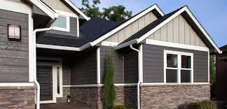 lp smartside engineered wood siding dark gray looks great with