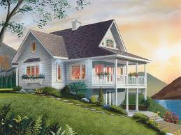 steep hillside house plans mountain house plans the house plan shop
